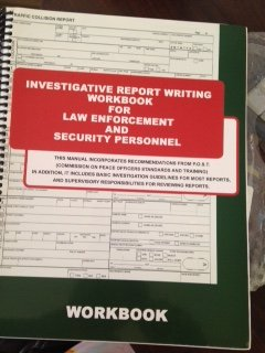 9781936986149: Investigative Report Writing for Law Enforcement and Security Personnel: Manual + Workbook