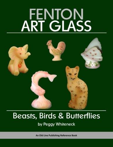 Fenton Art Glass: Beasts, Birds & Butterflies: Whiteneck, Peggy