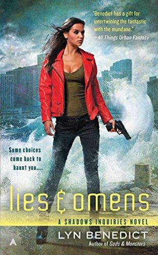 9781937007508: Lies & Omens (A Shadows Inquiries Novel)