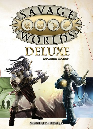 9781937013202: Savage Worlds Deluxe: Explorer's Edition (S2P10016)