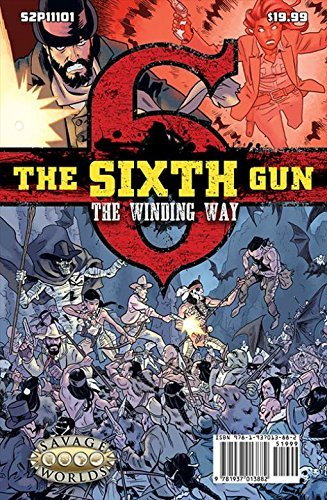 9781937013882: The Sixth Gun GM Screen with The Winding Way Adventure (S2P11101)