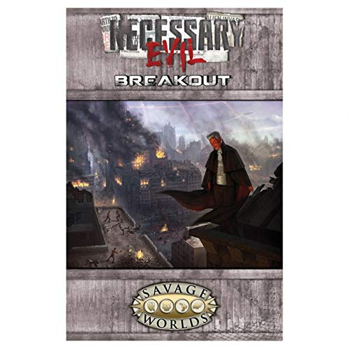 9781937013929: Necessary Evil: Breakout (Savage Worlds, S2P10019)