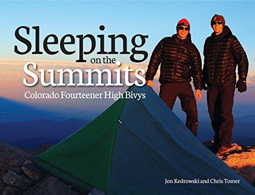 9781937052287: Sleeping on the Summits: Colorado Fourteener High Bivys