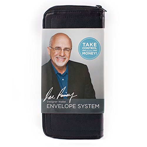 Black Designer Wallet Envelope System (Dave Ramsey's Financial Peace University): Lampo ...