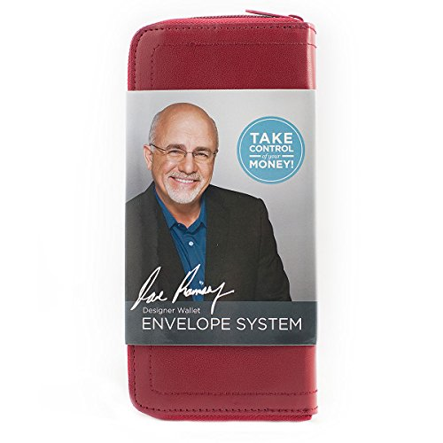 9781937077525: Red Designer Wallet Envelope System (Dave Ramsey's Financial Peace University)