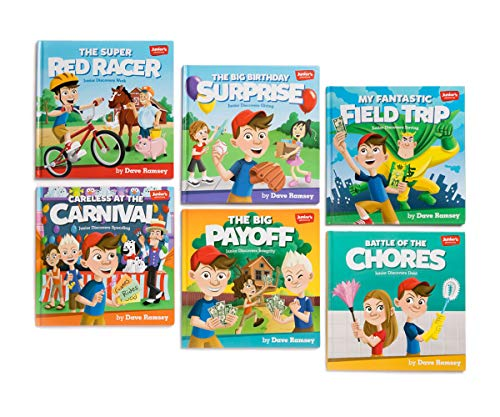 Juniors Adventures: Storytime Book Set 9781937077884 Your children can join Junior in these six fun-filled adventures. Transform their futures with these colorful and entertaining books by