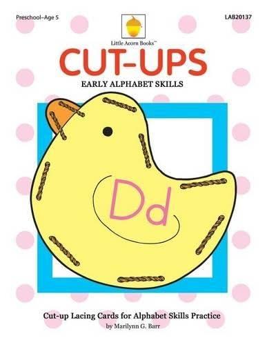 9781937257293: Cut-ups: Early Alphabet Skills