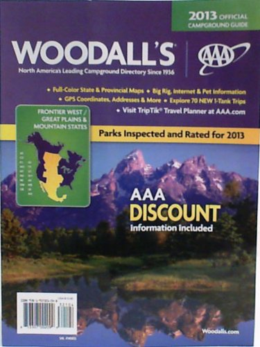 9781937321048: Woodall's North American Campground Directory 2013