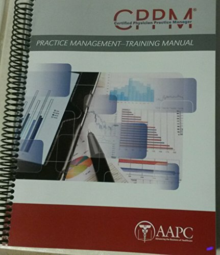 9781937348366: Certified Physician Practice Manager - Manual
