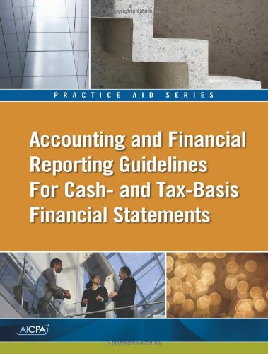 9781937351441: Accounting and Financial Reporting Guidelines for Cash- And Tax-Basis Financial Statements