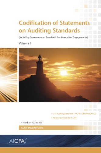 Codification of Statements on Auditing Standards 2013: AICPA
