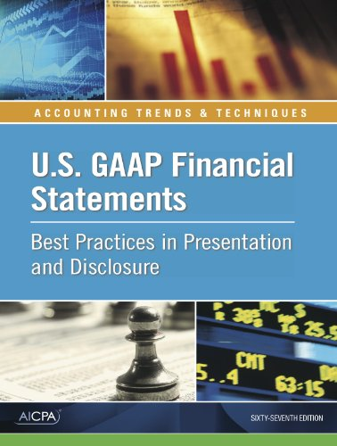 U.S. GAAP Financial Statements - Best Practices in Presentation and Disclosure: AICPA