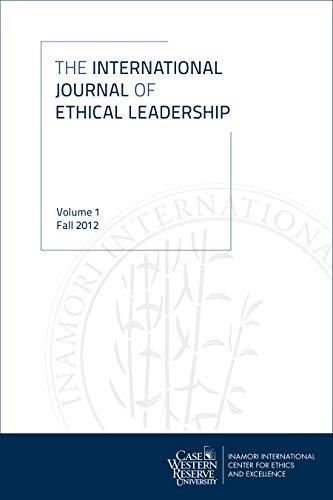 9781937378820: International Journal of Ethical Leadership: Volume 1