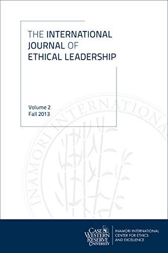 9781937378837: International Journal of Ethical Leadership: Volume 2