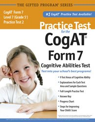 Practice test cogat form level by mercer publishing abebooks practice test for the cogat form 7 mercer publishing fandeluxe Image collections