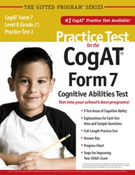 Practice test cogat form level by mercer publishing abebooks practice test for the cogat form 7 mercer publishing fandeluxe Gallery