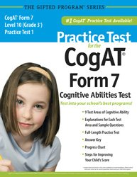 Practice Test For The Cogat Form 7: Mercer Publishing