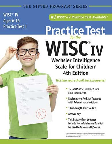9781937383299: Practice Test for the WISC®-IV Wechsler