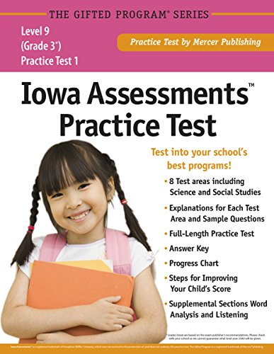 9781937383350: Iowa Assessments™ Practice Test (Grade 3) Level 9