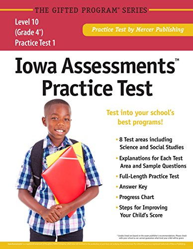 9781937383367: Iowa Assessments™ Practice Test (Grade 4) Level 10