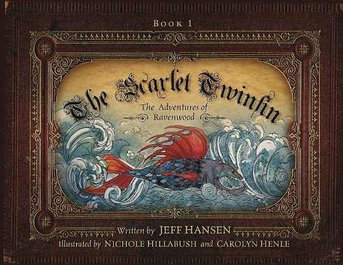 9781937454210: The Scarlet Twinfin: The Adventures of Ravenwood