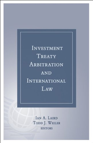 9781937518066: Investment Treaty Arbitration and International Law - Volume 5