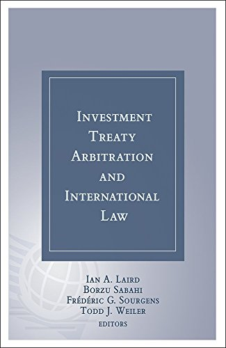 9781937518691: Investment Treaty Arbitration and International Law - Volume 8