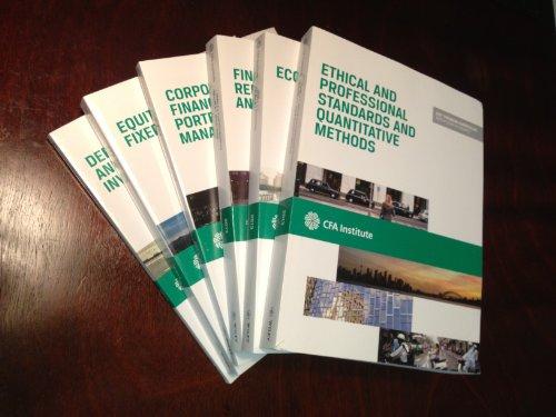 9781937537012: CFA Curriculum Level I 2013