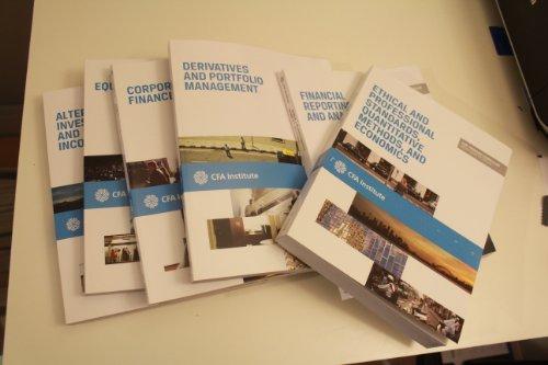 9781937537104: 2013 CFA Level 2: CFA Institute Program Curriculum Volumes 1-6 [Paperback] (2013 CFA Level 2: CFA Institute Program Curriculum Volumes 1-6