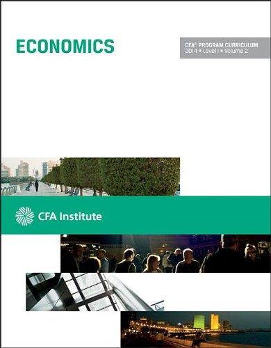 9781937537616: CFA Program Curriculum, Level 1, 2014, Vol. 2: Economics