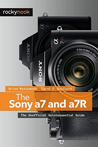 The Sony A7 and a7R 9781937538491 This book is a guide to using the Sony a7 and a7R, the first full frame, autofocus system cameras. At half the weight of a full frame DSLR, they are easy to carry for photographers on the go. The less-expensive a7 has a 24-megapixel sensor for shooting rapidly changing scenes; the a7R has a 36-megapixel sensor designed for ultimate image sharpness. Both use advanced image-processing algorithms and can use any manufacturer's lens when matched with the appropriate adapter. The electronic viewfinder gives the photographer an accurate preview of the image, ensuring the capture of technically excellent photographs by preventing mistakes in color temperature, depth of field, and exposure. All features of the a7 and a7R are covered, including automatic stitching to create panoramas, and multi-shot noise reduction that allows the use of extremely high ISOs. This book guides the photographer in using both the camera's automated features and manual controls to take photographs that are a unique reflection of his or her creative personality.