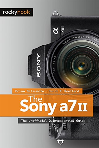 The Sony A7 Ii 9781937538705 In this book, authors Brian Matsumoto and Carol F. Roullard offer a wealth of experience-based information and insights on the Sony a7 II, a full frame, autofocus system camera. This guide will help the new owner navigate past the confusion that often comes with using complex, powerful photographic equipment. Brian and Carol explore the features and capabilities of the Sony a7 II in a way that far surpasses the users manual. Every feature of the camera is covered, from basic automated controls to advanced photographic applications, including automatic stitching to create panoramas and multi-shot noise reduction that allows the use of extremely high ISOs. Included are tips for set-up according to various shooting styles. The richly illustrated text and step-by-step instructions guide the reader on how and why to set each menu command. Every button, dial, switch, and menu configuration is discussed. The Sony a7 II: The Unofficial Quintessential Guide will help you take control of your camera, push the envelope, and take photographs that are a unique reflection of your own creative personality.