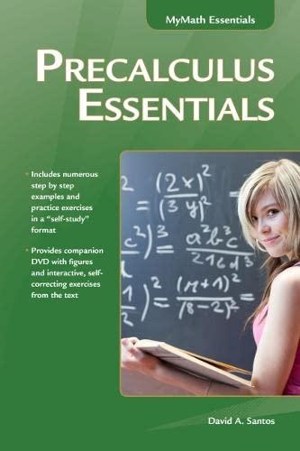9781937585273: Precalculus Essentials (My Math Essentials)