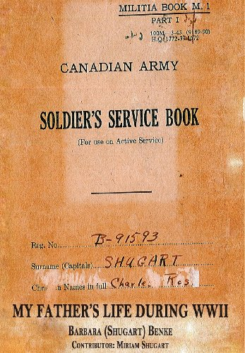 9781937592165: A Soldier's Service Book - My Father's Life During WWII