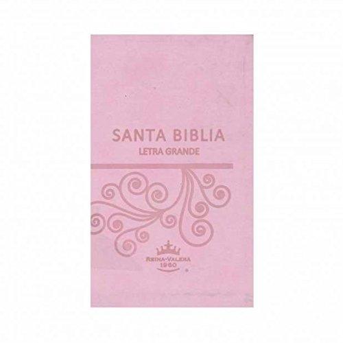 9781937628574: Spanish - RVR 1960 Santa Biblia Large Print - Pink Imitation Leather Indexed w/Zipper