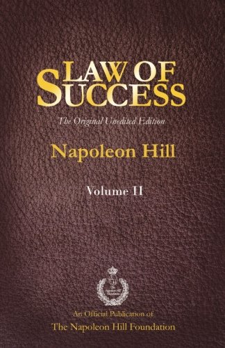 9781937641443: Law of Success Volume II: The Original Unedited Edition