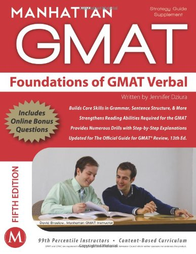 9781937707019: Foundations of GMAT Verbal