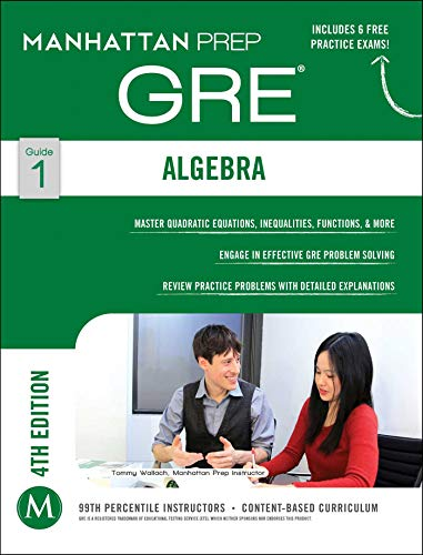 9781937707835: GRE Algebra Strategy Guide (Manhattan Prep GRE Strategy Guides)