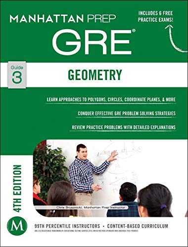 9781937707859: GRE Geometry (Manhattan Prep GRE Strategy Guides)
