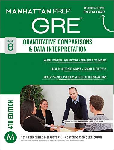 9781937707873: GRE Quantitative Comparisons & Data Interpretation (Manhattan Prep GRE Strategy Guides)