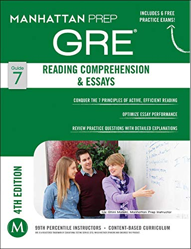 9781937707880: GRE Reading Comprehension & Essays (Manhattan Prep GRE Strategy Guides)