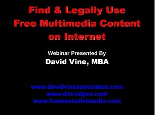 9781937729301: Find & Legally Use Free Multimedia Content Webinar Slides