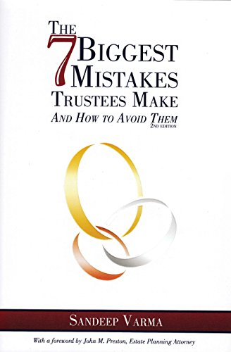 The 7 Biggest Mistakes Trustees Make: And How to Avoid Them (Hardcover): Sandeep Varma
