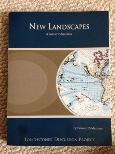 New Landscapes a Guide to Seminar A Guide to Seminar (9781937742324) by Howard Zeiderman