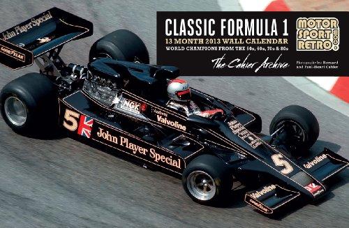 9781937747053: Motorsport Retro F1 Calendar 2013