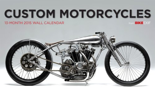 9781937747398: Custom Motorcycles 13-Month 2015 Calendar