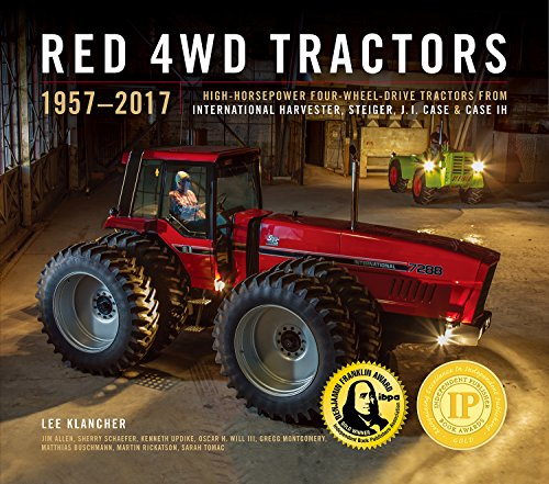 Red 4WD Tractors