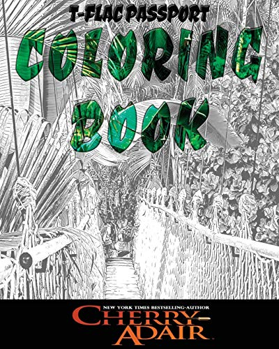 9781937774431: T-FLAC Coloring Book