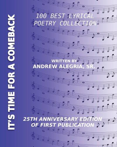 It's Time for a Comeback: Andrew Alegria, Sr.