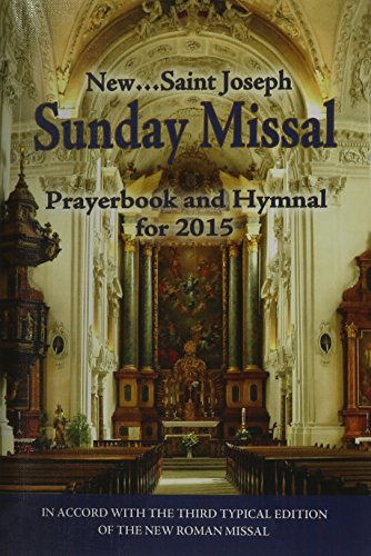 9781937913984: St. Joseph Sunday Missal and Hymnal: For 2015